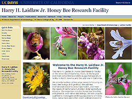 screenshot Honey Bee Research Facility