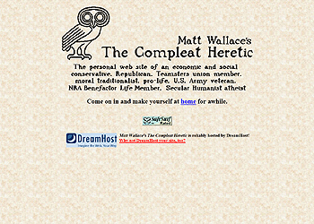 Matt Wallace's The Compleat Heretic